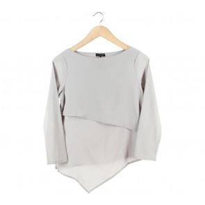 Cloth Inc Grey Blouse