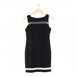 Glitterati Black Mini Dress