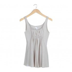 H&M Cream Sleeveless