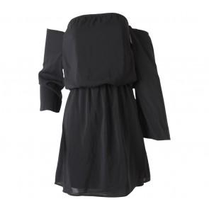 Smoochthelabel Black Tube Mini Dress