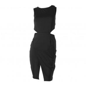 Status Quo Black Cut Out Mini Dress