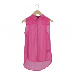 H&M Pink Sleeveless