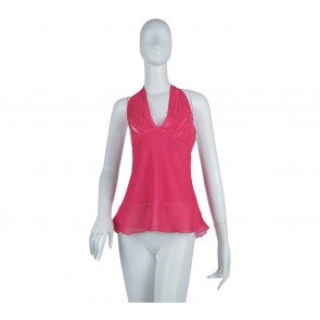 Marciano Pink Halter Sleeveless