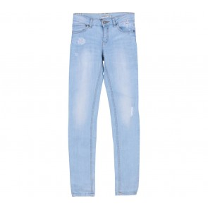 Stradivarius Blue Washed Skinny Jeans Pants