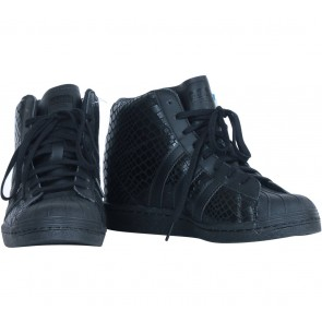 Adidas Black Superstar Up  Sneakers