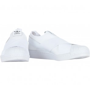 Adidas White Superstar Slip On w Sneakers