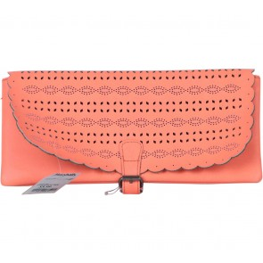 American Eagle Peach Buckle Clutch