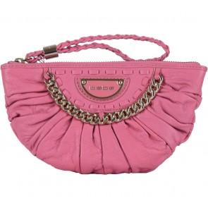 Bebe Pink Clutch
