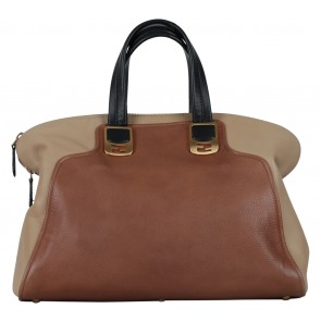 Fendi Brown Chameleon Duffle Handbag