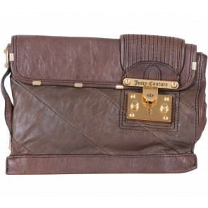 Juicy Couture Brown Clutch