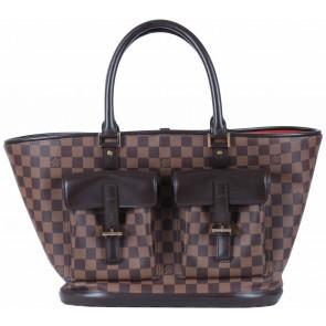 Louis Vuitton Brown Damier Neverfull Handbag