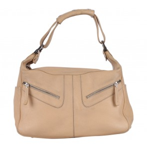 Tod's Cream Leather Handbag