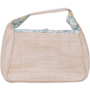 Victoria Secret Cream Straw Handbag