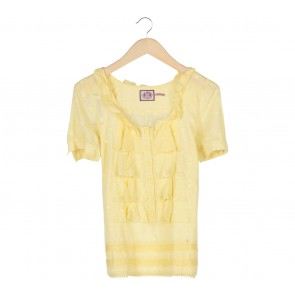 Juicy Couture Yellow Blouse