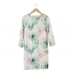 Lily Multi Colour Rose Mini Dress