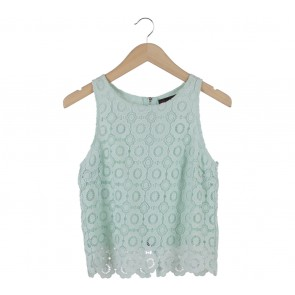 Ally Green Floral Sleeveless