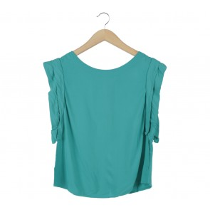 Asos Green Blouse