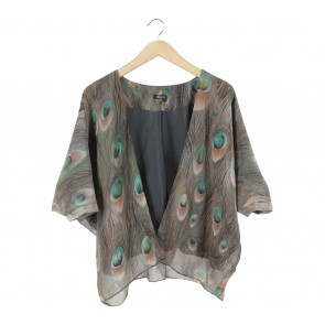 Muaya Multi Colour Animal Print Outerwear