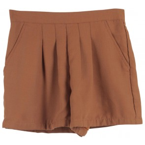 Shop At Velvet Brown Short Pants
