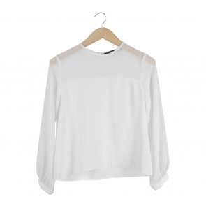 Shop At Velvet Off White Blouse