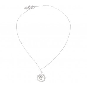 Swarovski Silver Lavender Pendant Jewellery