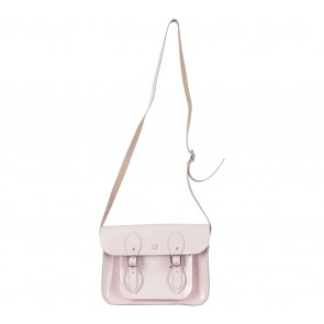 The Cambridge Satchel Company Pink with Magnet Sling Bag