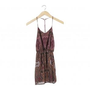 Tobi Multi Colour Sleeveless Mini Dress