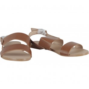 Zalora Brown Slingback  Sandals
