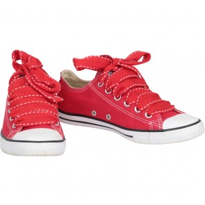 Converse Red Ct Lean Ox Sneakers