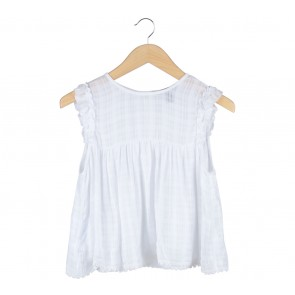 Forever 21 White Sleeveless