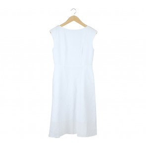 UNIQLO White Midi Dress