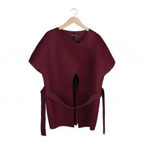 Love + Flair Maroon Outerwear