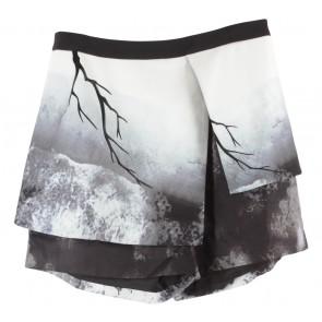 Love, Bonito Black And White Skort Pants