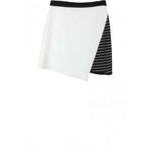 Love, Bonito White And Black Skirt