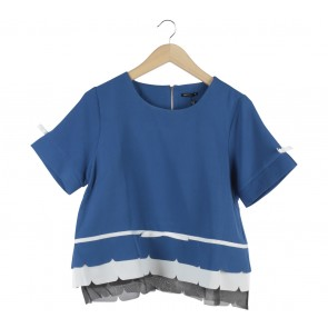 Marissa Blue Ribba Blouse