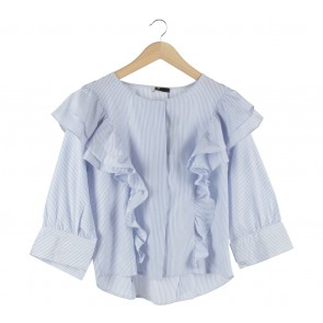 She´s Blue And White Striped Lisa Blouse