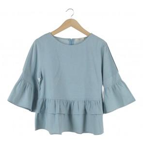She´s Blue Mari Blouse