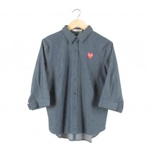 She´s Dark Blue Comme Shirt