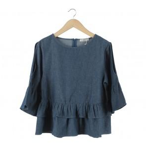 She´s Dark Blue Mari Blouse