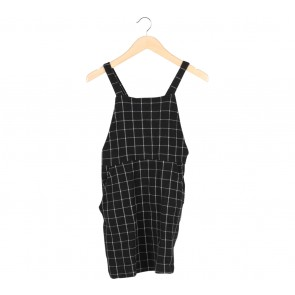 Black And White Plaid Sleeveless