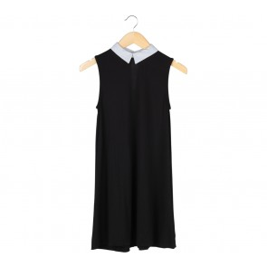 Pull & Bear Black Sleeveless Mini Dress