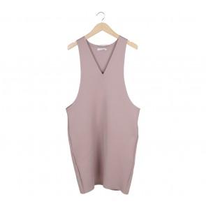 Komma Purple Mini Dress