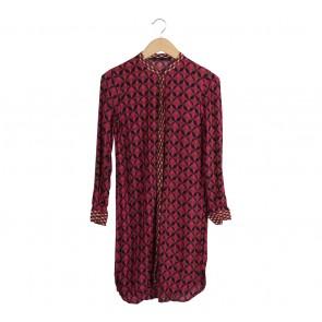 Zara Multi Colour Shirt Mini Dress