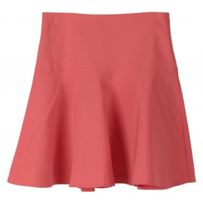 Forever 21 Peach Flare Mini Skirt