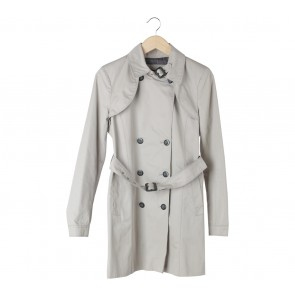 Zara Cream Coat