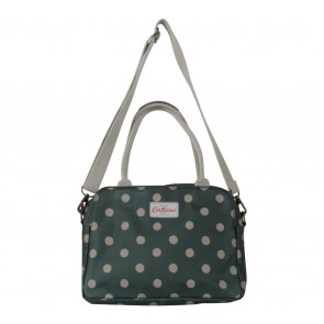Cath Kidston Green Polka Dot Shoulder Bag