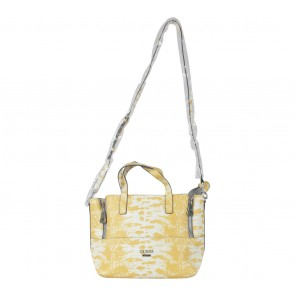 Guess Yellow Satchel