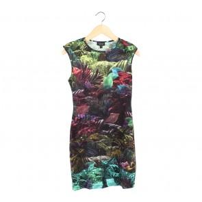 Topshop Multi Colour Mini Dress