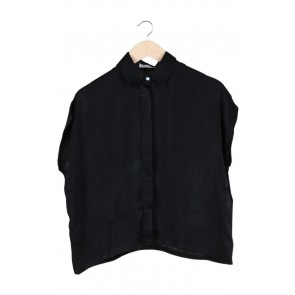 Black Plain Blouse