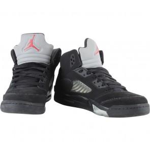 Nike Black Air Jordan 5 Retro Sneakers